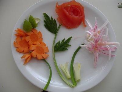 1000 garnishing ideas on pinterest food garnishes for Decoration salade