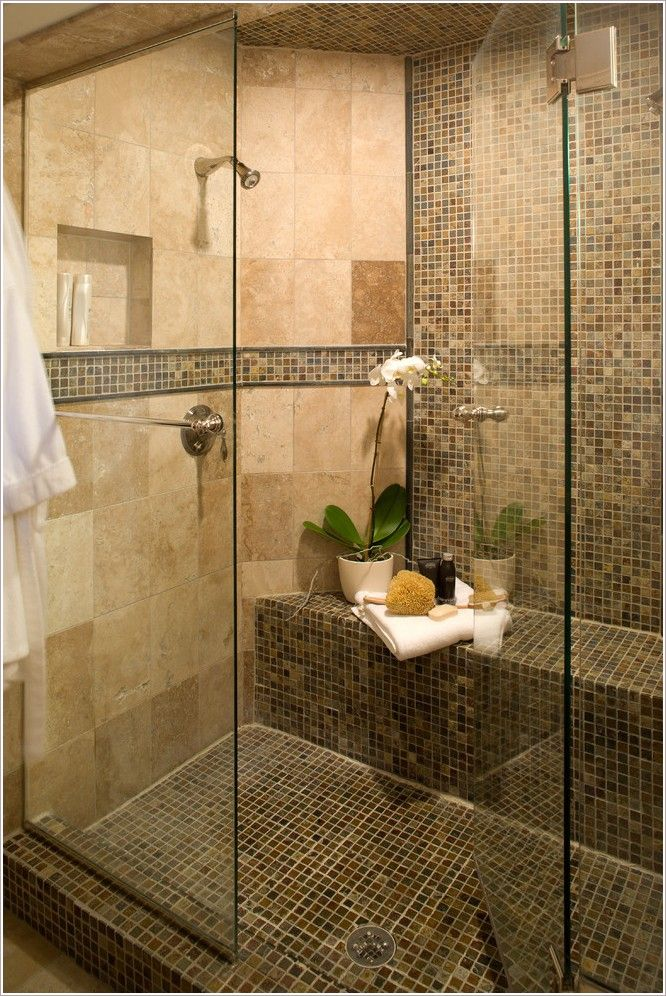 Shower Floor Tiles Which Why And How: Bathroom-Contemporary-Minneapolis-floor-tile-glass-shower