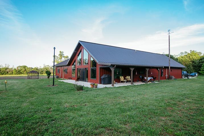 Very impressive metal building home hq pictures metal for Steel barn homes