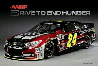 Jeff Gordon 2014 paint scheme