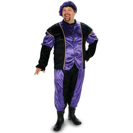 Renaissance Man Men's Plus Size Adult Halloween Costume, Size: 1XL