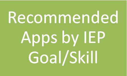 Free Ipad apps per IEP goals