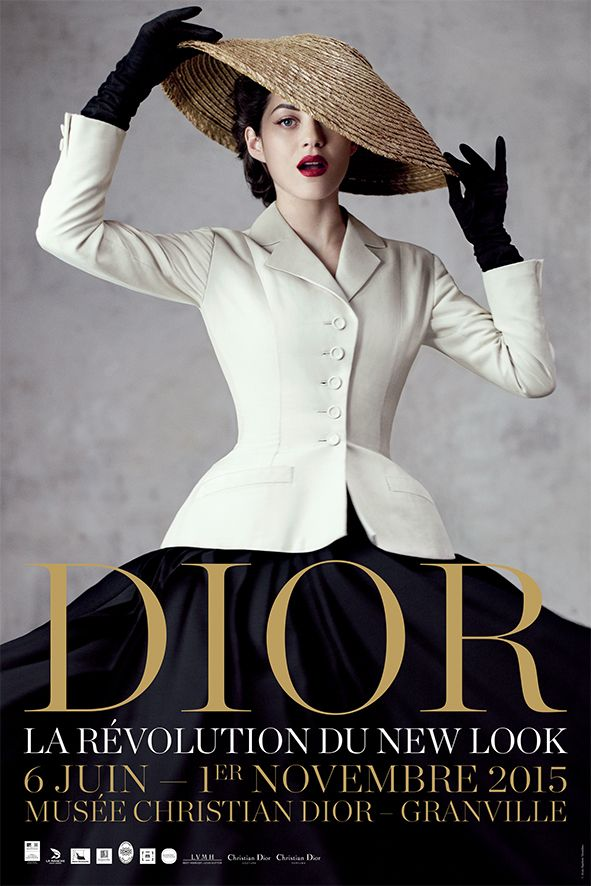 Dior's New Look on exhibit in Granville
