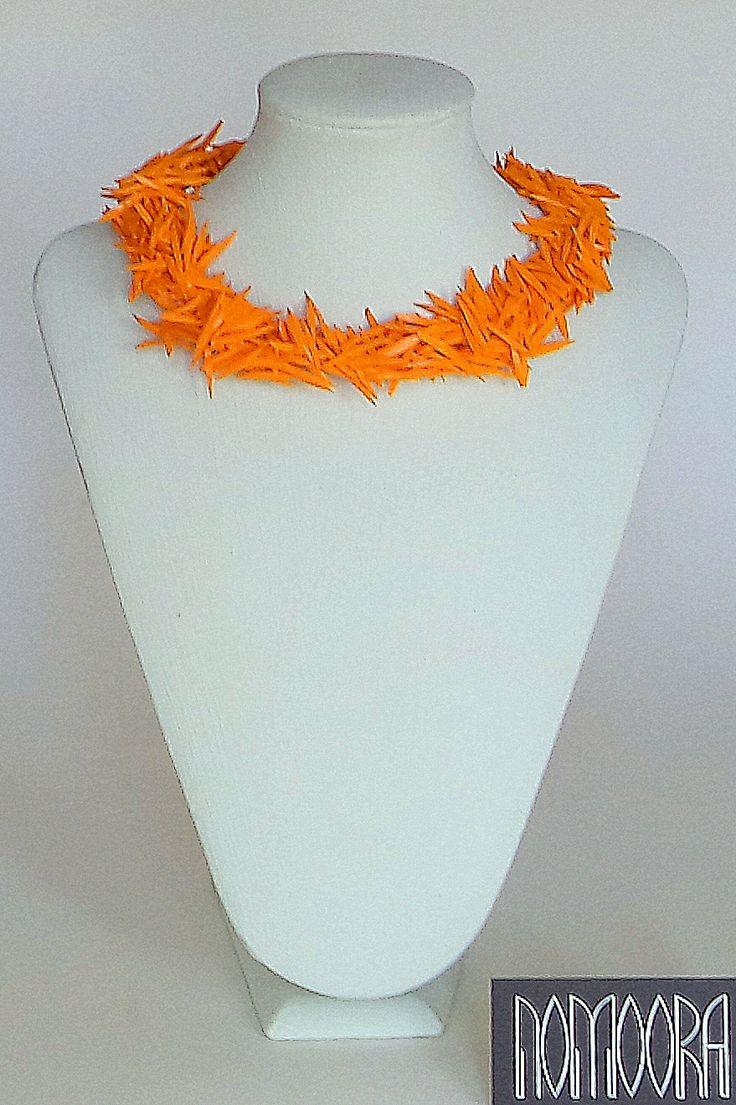 Cactus necklace.Colors by Nomoora. Shop on line @ www.nomoora.com