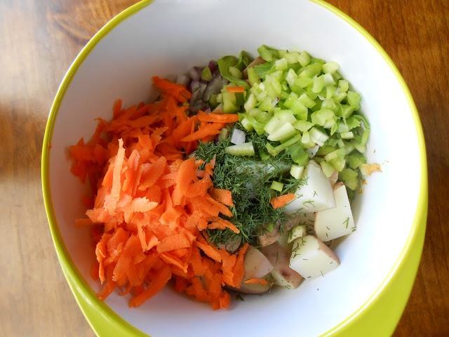 curried potato salad | Vegan | Pinterest