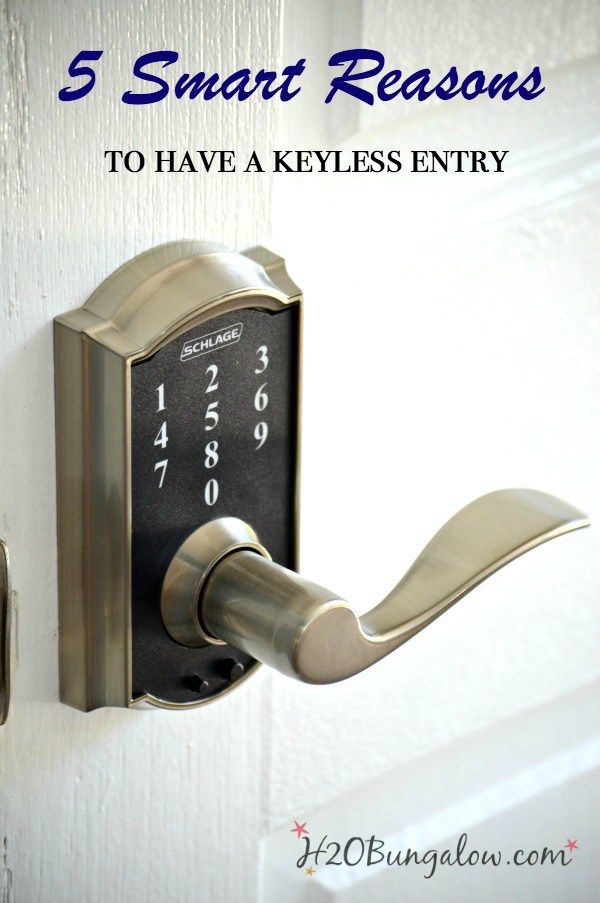 The top 5 smart reasons to have a keyless entry with video showing how easy it…