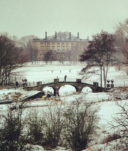 Dam Head Bridge, Bretton Hall and Yorkshire Sculpture Park West Bretton Wakefield Yorkshire by woodytyke on Flickr.
