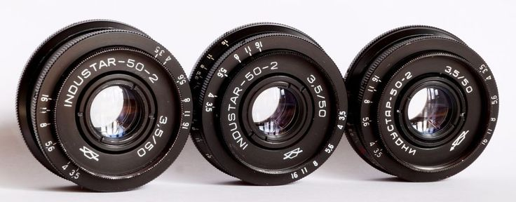 Industar-50-2 50mm 3.5 Pancake Camera Lens M42 Mount i-50-2 - 3 pcs #Industar