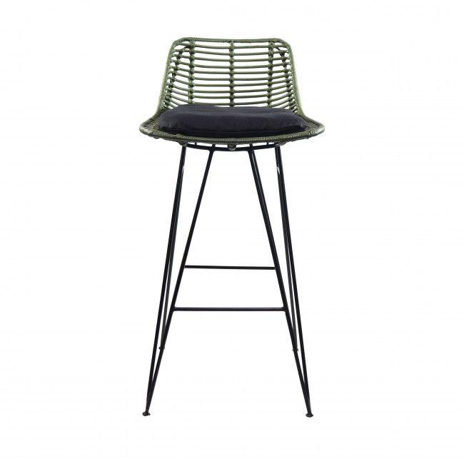 Capurgana Chaise De Bar Design En Rotin 67cm En 2020 Chaise De Bar Design Tabouret De Bar Chaise Bar