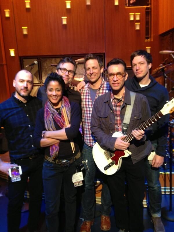 "Fred Armisen Will Be The Bandleader On ""Late Night With Seth Meyers"" - It's an SNL reunion already!"