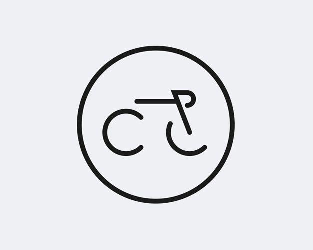 Minimalisme, graphisme et vélo