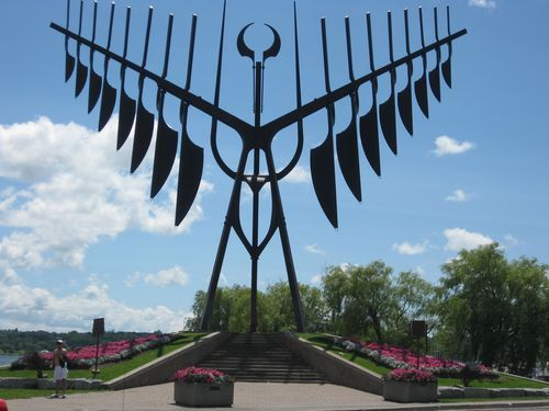 Our office is located in beautiful, #Barrie, Ontario. Here is the Spirit Catcher, located on our waterfront.