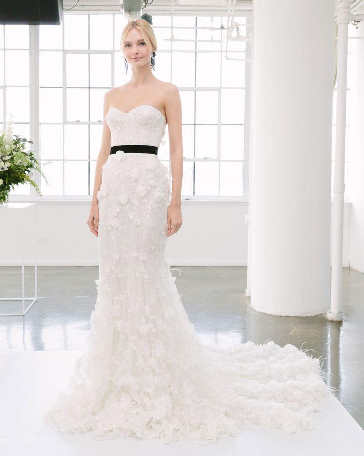 14 best Marchesa Bridal Fashion Week Spring 2018 images on Pinterest ...