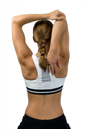 These 4 Easy Exercises tone up the upper body and gets rid of that arm jiggle!