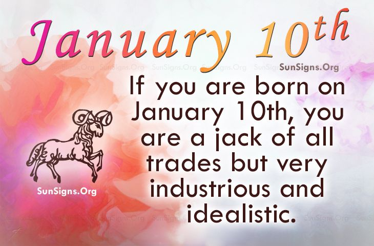 horoscope for january 10 birthday