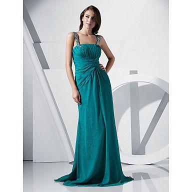 JUTTA - Vestido de Noche de Gasa – USD $ 249.99