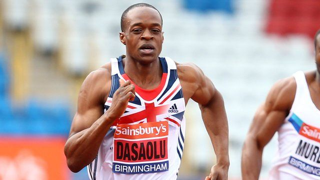 BBC Sport - James Dasaolu becomes second-fastest Briton in history