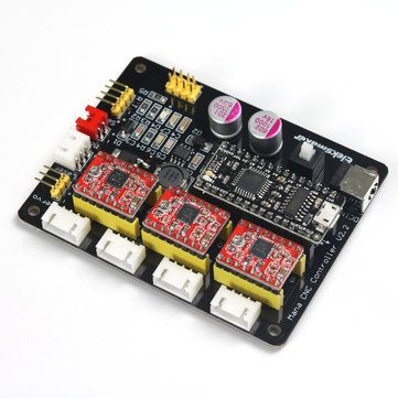 EleksMaker® Mana 3 Axis Stepper Motor Controller Driver Board For DIY Laser Engraver