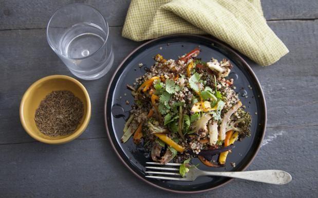 Le verdure cotte al forno senza grassi con la quinoa - Corriere.it