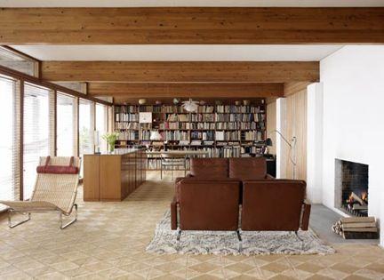 danish living room. Home of Danish Furniture Designer Poul Kjaerholm  near Copenhagen Denmark by 1962 143 best Modern Living Rooms images on Pinterest