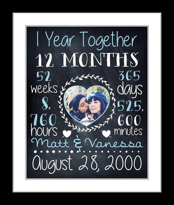 Personalisierte Erste Hochzeit Jahrestag Geschenk Plaque 1 Etsy