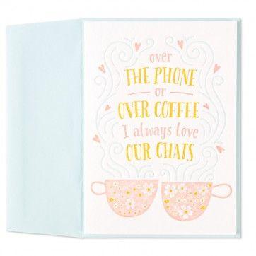 Coffee Chats Card