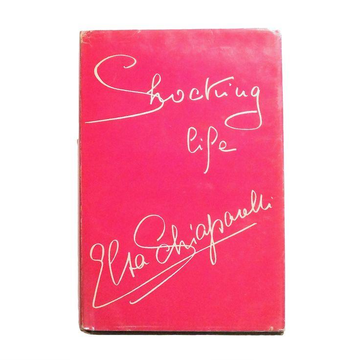 Rare Signed 1st edition of Elsa Schiaparelli's Shocking Life