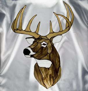 17 Best Images About Stained Glass Deer On Pinterest