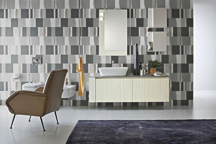 Bagno Joy con finitura rovere paloma e colore opaco grigio chiaro http://www.cerasa.it/it_IT/bagni/moderno/joy/Cerasa_bagno_Joy_12_13