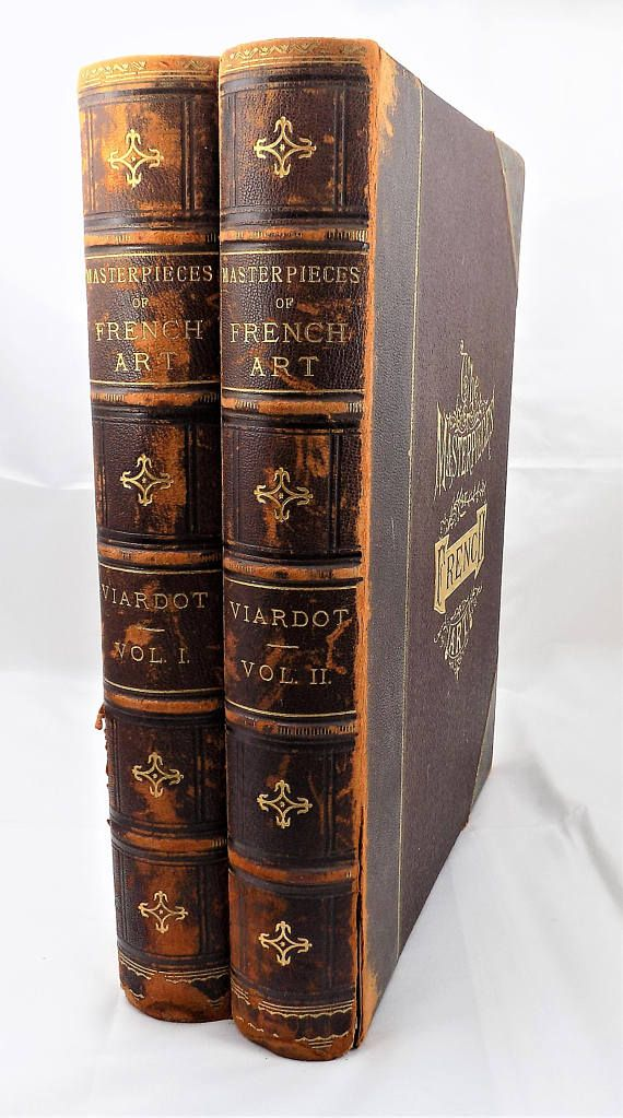 The Masterpieces Of French Art 1883 Antique French Art History