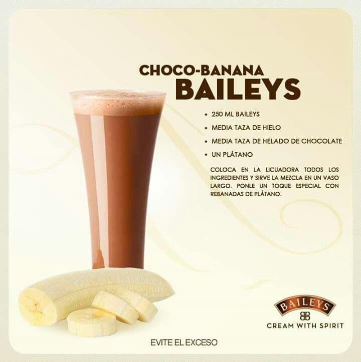 Choco-banana baileys