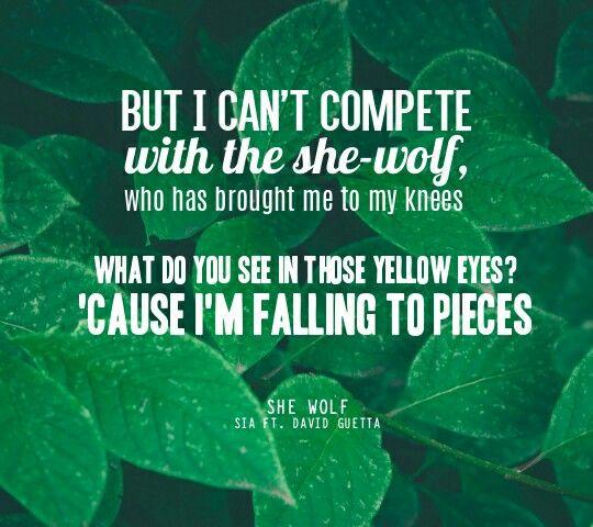 She Wolf - Sia and David Guetta