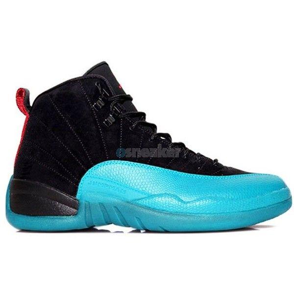 Discount Jordan Gamma Blue 12 Online Cheap Sale Authentic Cheap Jordan... ($149) ❤ liked on Polyvore
