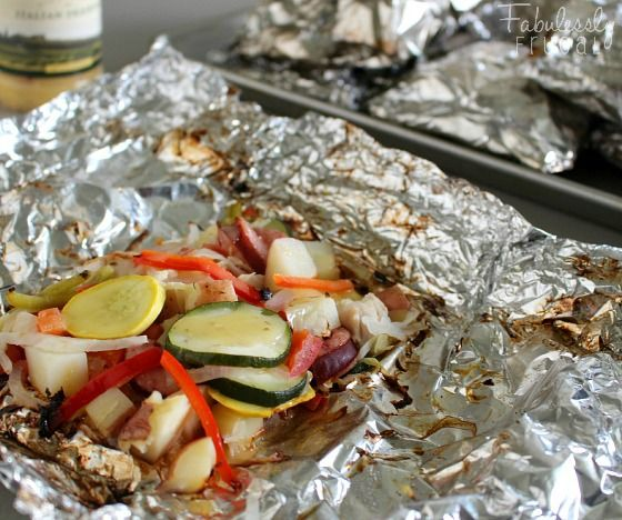 Summer Sausage Hobo Dinner Recipe