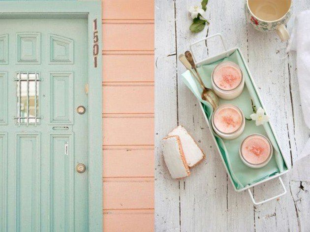 Perfect 20 Lovely Peach And Mint Interior Designs