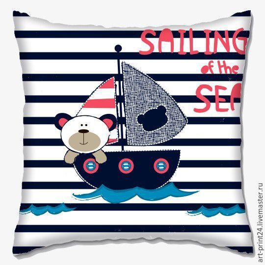 Купить Подушка декоративная, детская серия - комбинированный, Подушки, подушки декоративные, подушки диванные