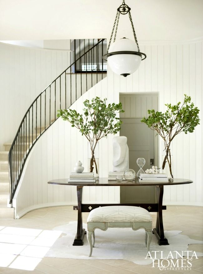 17 best ideas about round foyer table on pinterest round - Table induction 4 foyers ...