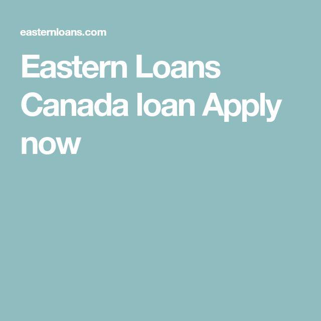 Eastern Loans Canada loan Apply now