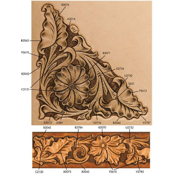 Images about tooled leather patterns on pinterest
