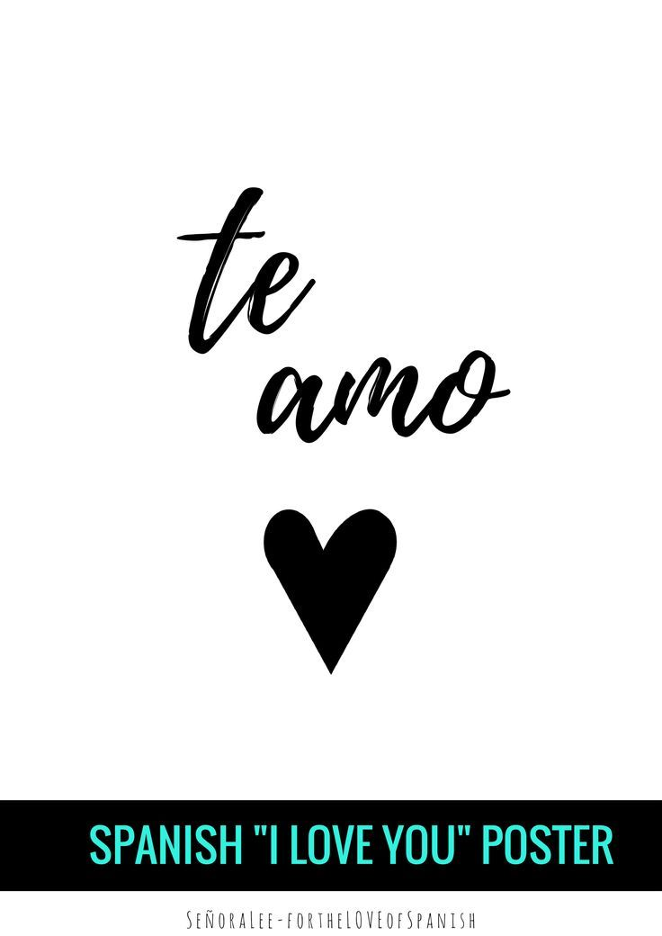 Spanish Love Quotes And Poems For Him Her: 1000+ Images About SPANISH Learning On Pinterest