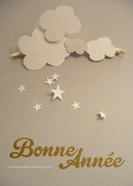 Greeting card - Happy new year  Carte de voeu - bonne année ©celinevoisin.fr