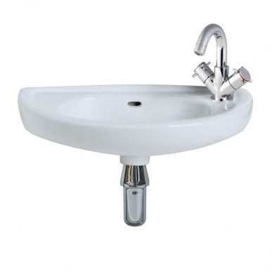 Milano Cloakroom Basin 1 Taphole Rt Hand