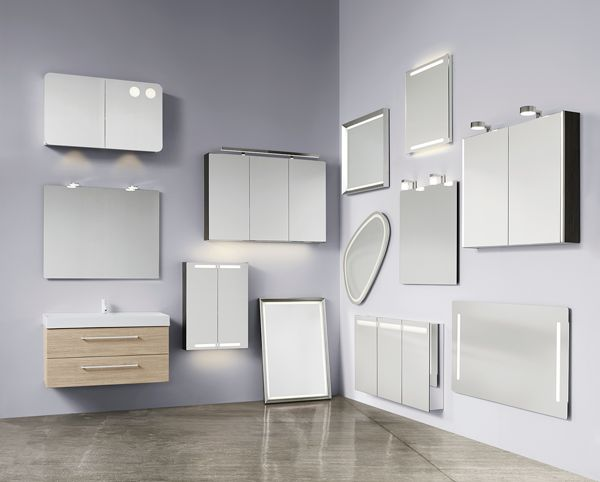 Our mirror solutions are designed to give you reflection in a soft complimentary light.