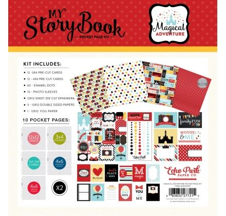 Kit Project Life 30x30 'Echo Park Paper - Magical Adventure' My Storybook