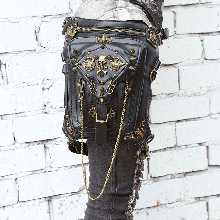 Steampunk Skull Bag //Price: $55.69 & FREE Shipping //     #skull #skullinspiration #skullobsession #skulls