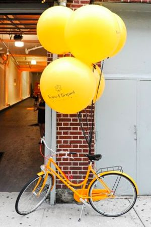 Branding Design at Corporate Events Blog Post. Balloons! Veuve  Event.