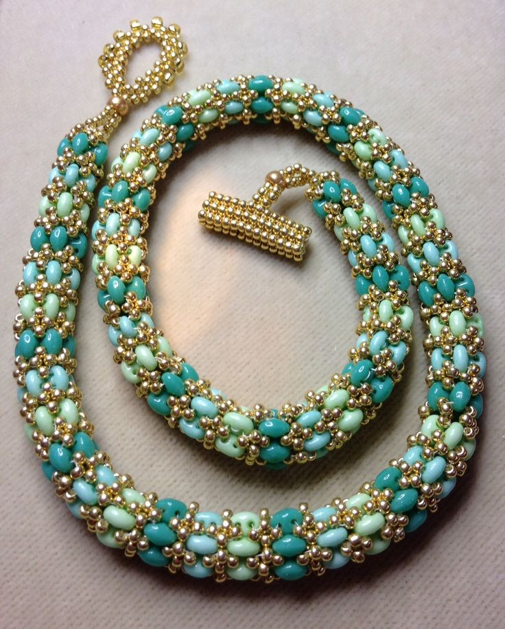 Jill Wisman's dreamweaver is one of the best options in duo/twin ropes. I got ~15 inches from 22g of superduos. Video is here: https://www.youtube.com/watch?v=rOI20OJT1Rw #Seed #Bead #Tutorials More