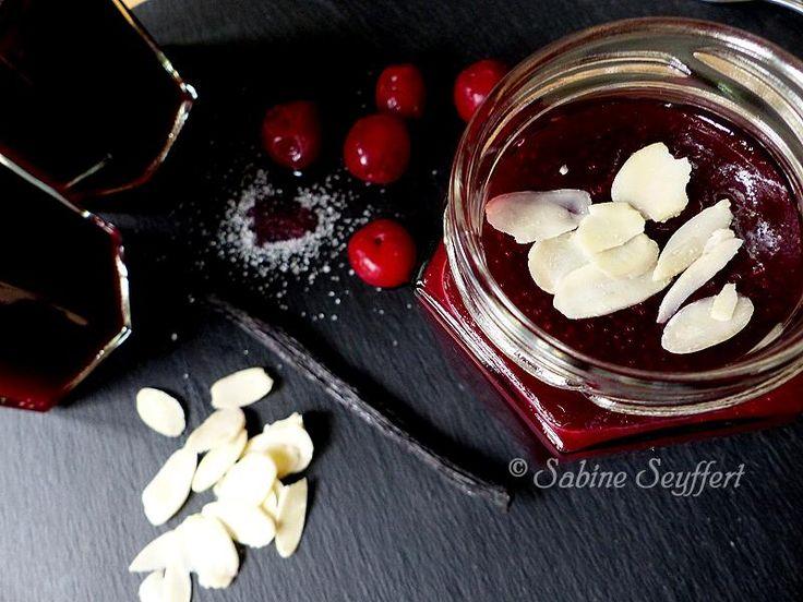 Kirsch-Marzipan-Marmelade