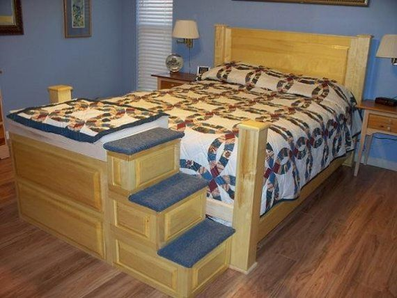 This is one way to have more room in the bed!! I would probably end up on the small one :-)