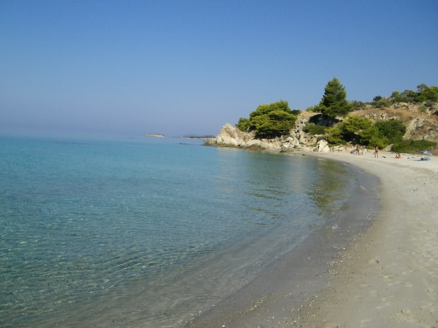 beach near Nikiti - halkidiki